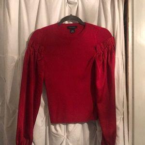 Club Monaco Mixed Media Sweater